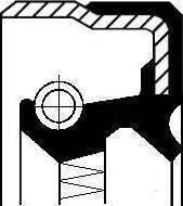 Corteco 01034692B - Vārpstas blīvgredzens, Palīgpievads autodraugiem.lv