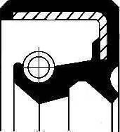 Corteco 19034943B - Vārpstas blīvgredzens, Sadales kārba autodraugiem.lv