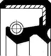 Corteco 19027780B - Vārpstas blīvgredzens, Sadales kārba autodraugiem.lv