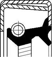 Corteco 12014316B - Vārpstas blīvgredzens, Automātiskā pārnesumkārba autodraugiem.lv