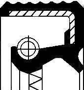 Corteco 12010684B - Vārpstas blīvgredzens, Sadales kārba autodraugiem.lv