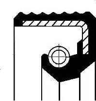 Corteco 01012588B - Vārpstas blīvgredzens, Palīgpievads autodraugiem.lv