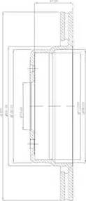 Delphi BG2436 - Bremžu diski autodraugiem.lv