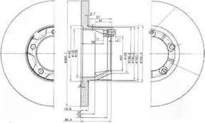 Delphi BG2163 - Bremžu diski autodraugiem.lv