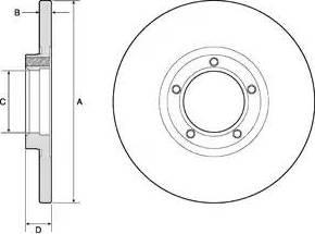 Delphi BG2349 - Bremžu diski autodraugiem.lv