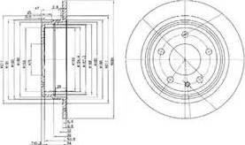 Delphi BG2211 - Bremžu diski autodraugiem.lv