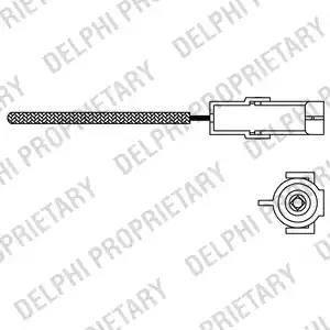 Delphi ES10966-12B1 - Lambda zonde autodraugiem.lv