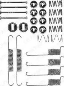Delphi LY1197 - Piederumu komplekts, Bremžu loki autodraugiem.lv