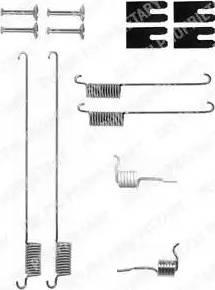 Delphi LY1323 - Piederumu komplekts, Bremžu loki autodraugiem.lv