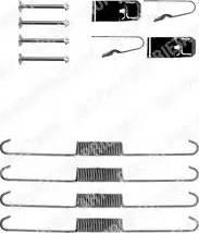 Delphi LY1205 - Piederumu komplekts, Bremžu loki autodraugiem.lv