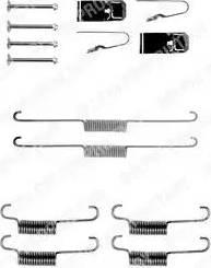 Delphi LY1203 - Piederumu komplekts, Bremžu loki autodraugiem.lv