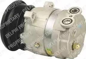 Delphi TSP0155013 - Kompresors, Gaisa kond. sistēma autodraugiem.lv