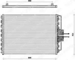 Delphi TSP0225061 - Kondensators, Gaisa kond. sistēma autodraugiem.lv