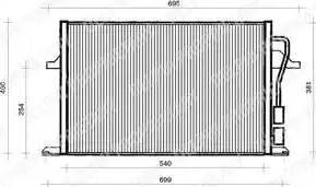 Delphi TSP0225112 - Kondensators, Gaisa kond. sistēma autodraugiem.lv