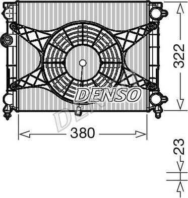 Denso DRM99010 - Dzesēšanas modulis autodraugiem.lv