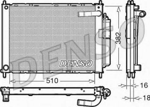 Denso DRM46101 - Dzesēšanas modulis autodraugiem.lv