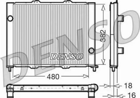 Denso DRM23099 - Dzesēšanas modulis autodraugiem.lv