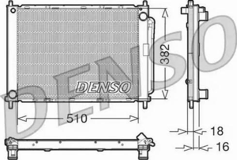 Denso DRM23100 - Dzesēšanas modulis autodraugiem.lv