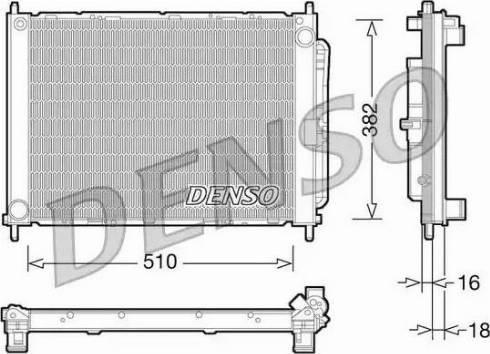 Denso DRM23101 - Dzesēšanas modulis autodraugiem.lv