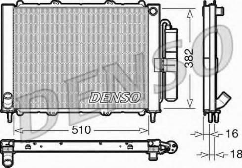 Denso DRM23103 - Dzesēšanas modulis autodraugiem.lv