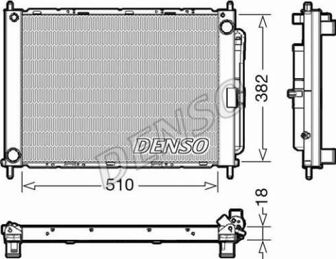 Denso DRM23111 - Dzesēšanas modulis autodraugiem.lv