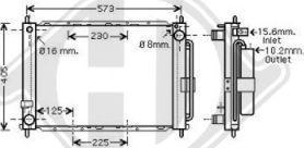 Diederichs DCM3846 - Dzesēšanas modulis autodraugiem.lv