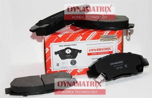 Dynamatrix DBP904 - Bremžu uzliku kompl., Disku bremzes autodraugiem.lv