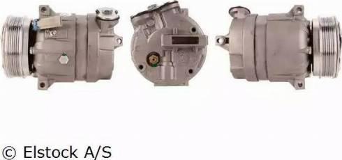 Elstock 51-0002 - Kompresors, Gaisa kond. sistēma autodraugiem.lv