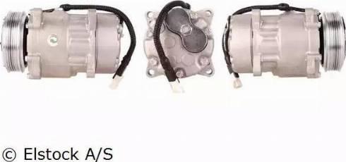 Elstock 51-0021 - Kompresors, Gaisa kond. sistēma autodraugiem.lv