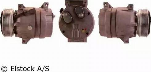 Elstock 51-0763 - Kompresors, Gaisa kond. sistēma autodraugiem.lv
