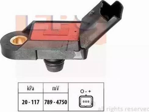 EPS 1.993.056 - Spiediena devējs, Bremžu pastiprinātājs autodraugiem.lv