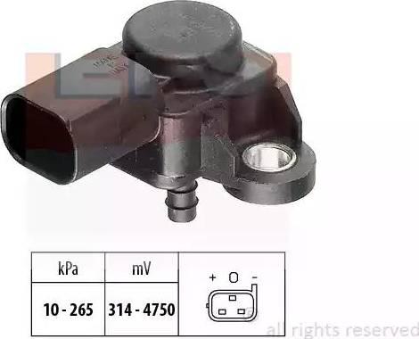 EPS 1.993.102 - Devējs, Izplūdes gāzu spiediens autodraugiem.lv