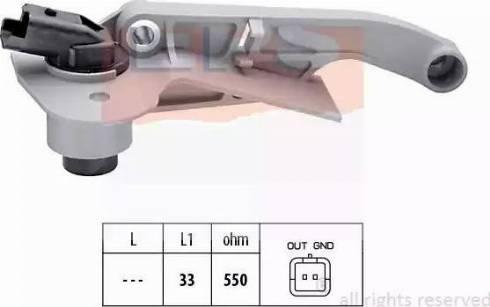 EPS 1.953.176 - Rotācijas frekvences devējs, Automātiskā pārnesumkārba autodraugiem.lv