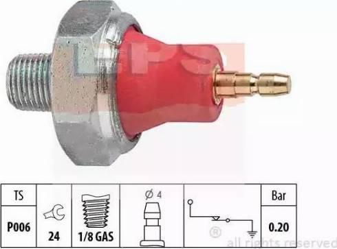EPS 1.800.059 - Eļļas spiediena devējs, Automātiskā pārnesumkārba autodraugiem.lv