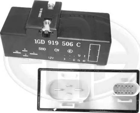 ERA 661262 - Relejs, Radiatora ventilatora sistēma autodraugiem.lv