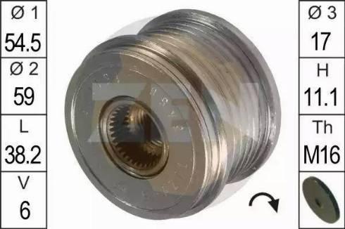 ERA 219052 - Ģeneratora brīvgaitas mehānisms autodraugiem.lv