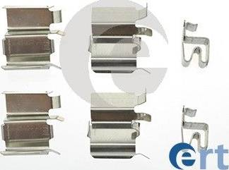 ERT 420098 - Piederumu komplekts, Disku bremžu uzlikas autodraugiem.lv