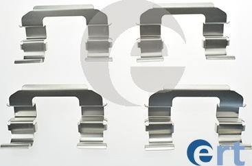 ERT 420062 - Piederumu komplekts, Disku bremžu uzlikas autodraugiem.lv