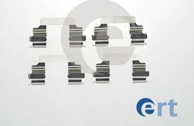 ERT 420164 - Piederumu komplekts, Disku bremžu uzlikas autodraugiem.lv