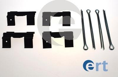 ERT 420360 - Piederumu komplekts, Disku bremžu uzlikas autodraugiem.lv