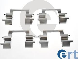 ERT 420306 - Piederumu komplekts, Disku bremžu uzlikas autodraugiem.lv