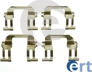 ERT 420294 - Piederumu komplekts, Disku bremžu uzlikas autodraugiem.lv