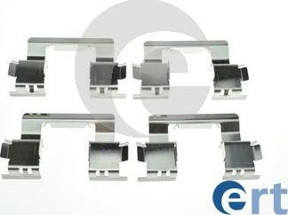 ERT 420293 - Piederumu komplekts, Disku bremžu uzlikas autodraugiem.lv