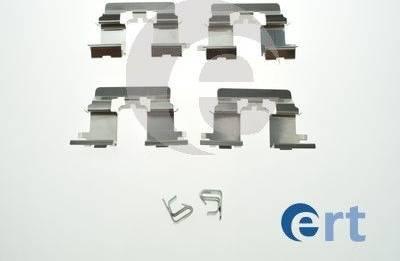 ERT 420247 - Piederumu komplekts, Disku bremžu uzlikas autodraugiem.lv