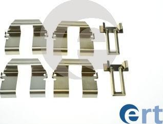 ERT 420287 - Piederumu komplekts, Disku bremžu uzlikas autodraugiem.lv