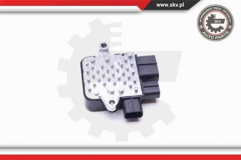 Esen SKV 94SKV805 - Papildus rezistors, Kondicioniera ventilators autodraugiem.lv