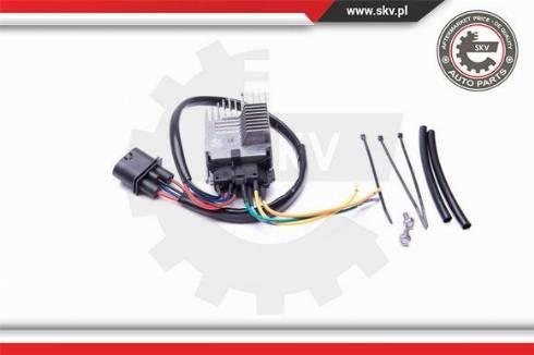 Esen SKV 94SKV800 - Papildus rezistors, Kondicioniera ventilators autodraugiem.lv