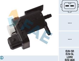 FAE 56051 - Pārslēdzošais vārsts, Izplūdes gāzu aizvars autodraugiem.lv