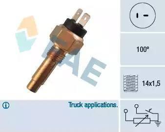 FAE 34150 - Devējs, Dzesēšanas šķidruma temperatūra autodraugiem.lv