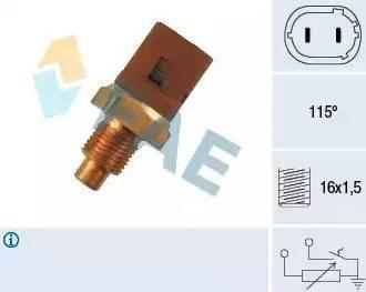 FAE 34290 - Devējs, Dzesēšanas šķidruma temperatūra autodraugiem.lv